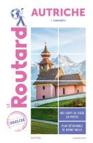 Guide du routard autriche 2021/22