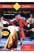 Bibliolycee - le mariage de figaro beaumarchais bac 2020