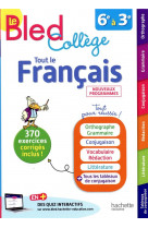 Bled francais college