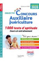 Auxiliaire de puericulture : 1 000 tests d-aptitude