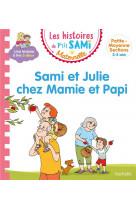 Chez mamie et papi-album 9 p-tit sami maternelle (3-4 ans)
