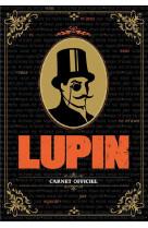 Carnet de notes lupin
