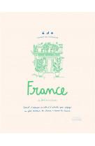 Carnet du voyageur france - carnet d-adresse, de notes et d-activites du voyageur