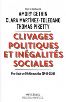Clivages politiques et inegalites sociales. une etude de 50 democraties (1948-2020)