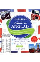 15 minutes par jour pour s-exercer en anglais
