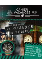 Cahier de vacances larousse special escape game - dans les rouages du temps