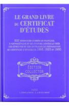 Le grand livre du certificat d-etudes