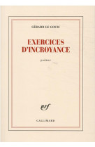 Exercices d-incroyance