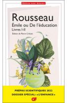Emile ou de l-education - livres i-ii