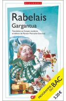 Gargantua - programme nouveau bac 2022 1re  - parcours  rire et savoir