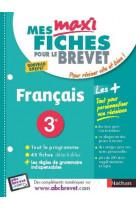 Brevet francais maxi fiches
