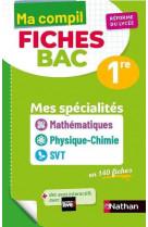 Compil fiches maths / pc / svt - 1re