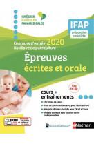 Concours entree auxiliaire puericulture 2020 - ifap - epreuves ecrites et orale - (iepm) - 2019