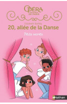 20 allee de la danse s2 t1:petits secrets - vol19