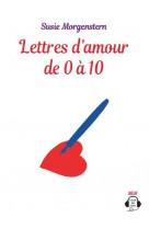 Lettres d-amour de 0 a 10 - audio