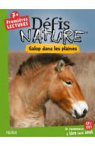 Defis nature - premieres lectures - chevaux