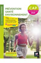 Les nouveaux cahiers - prevention sante environnement cap - manuel eleve