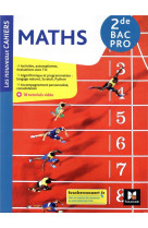 Les nouveaux cahiers - mathematiques - 2de bac pro - ed. 2021 - livre eleve
