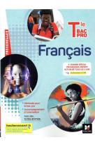 Passerelles - francais - tle bac pro - ed. 2021 - livre eleve