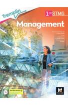 Tremplin - management - 1re stmg - ed. 2021 - livre eleve