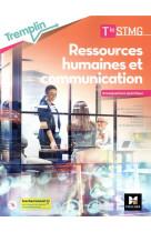Tremplin - rh et communication - tle stmg - enseignement specifique - ed. 2021 - livre eleve