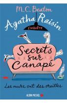 Agatha raisin 26  secrets sur canape