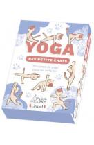 Le yoga des petits chats 50 carte de yoga
