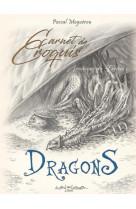 Carnet de croquis de dragons