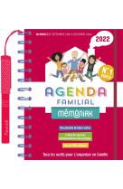 Agenda familial memoniak 2021-2022