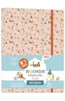 Agenda familial memoniak pocket 2021-2022