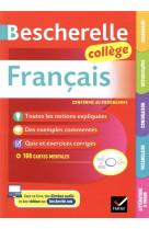 Bescherelle francais college (6e, 5e, 4e, 3e) - grammaire, orthographe, conjugaison, vocabulaire, li
