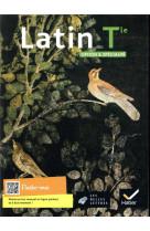 Latin tle option et specialite - ed. 2021 - livre eleve