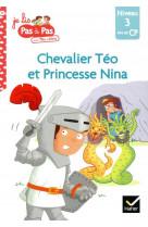Chevalier teo et princesse nina