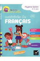 Chouette maternelle activites de francais moyenne section