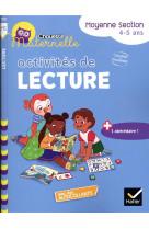 Chouette maternelle activites de lecture moyenne section