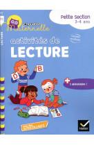 Chouette maternelle activites de lecture petite section