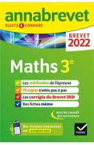 Annabrevet 2022 maths - methodes du brevet & sujets corriges