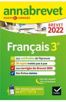 Annabrevet 2022 francais - methodes du brevet & sujets corriges