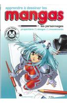 Apprendre a dessiner les mangas- personnages