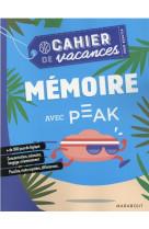 Cahier de vacances - memoire avec peak