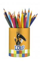 Mon pot a crayons du loup