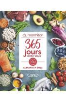 365 jours avec vous - l-almanach marmiton 2022