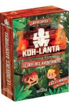 Koh-lanta - jeu de cartes - le defi des aventuriers