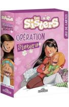 Les sisters - jeu de cartes - operation sisters