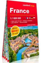 France 1/1m600 (carte de poche laminee)