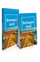 Bretagne nord (guide et carte laminee)