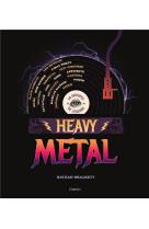 Heavy metal. 50 groupes de legende