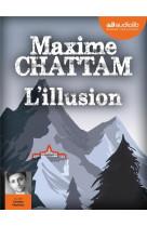 L-illusion - livre audio 2 cd mp3