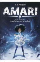 Amari, tome 01 - amari et le bureau du surnaturel 1