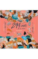 299 chats et 1 chien - puzzle de felins